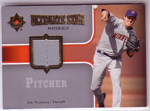 Photo of 2007 Ultimate Collection Ultimate Star Materials #JN Joe Nathan