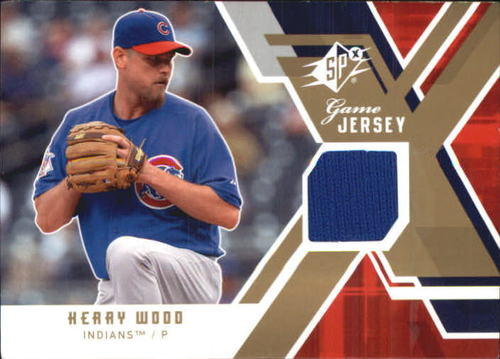 Photo of 2009 SPx Game Jersey #GJKW Kerry Wood