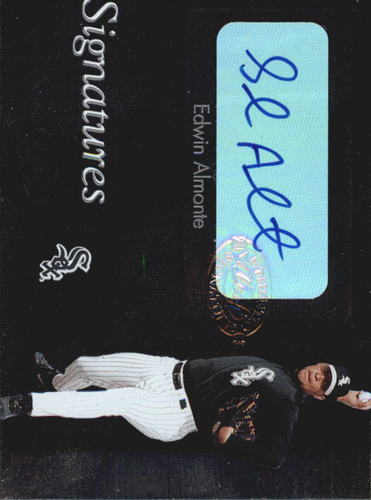 Photo of 2003 Leaf Clubhouse Signatures Silver #1 Edwin Almonte