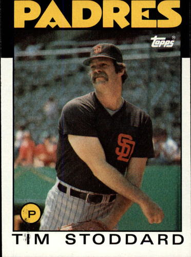 Photo of 1986 Topps #558 Tim Stoddard
