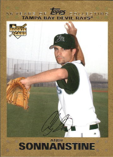 Photo of 2007 Topps Update Gold #171 Andy Sonnanstine