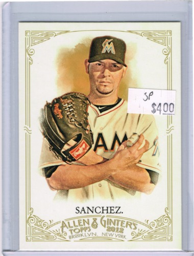 Photo of 2012 Topps Allen and Ginter #312 Anibal Sanchez SP