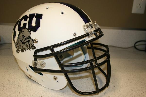 Photo of Matte White Schutt® Helmet