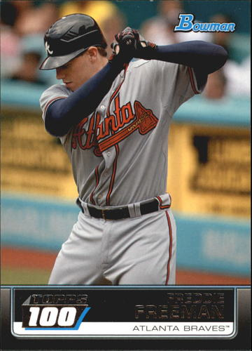 Photo of 2011 Bowman Topps 100 #TP84 Freddie Freeman