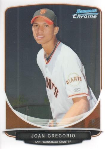 Photo of 2013 Bowman Chrome Prospects #BCP185 Joan Gregorio
