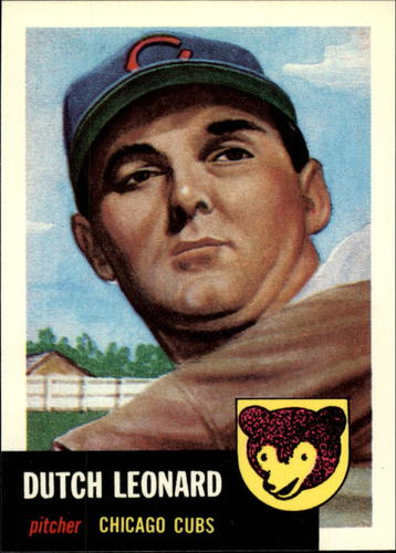 Photo of 1991 Topps Archives 1953 #155 Dutch Leonard