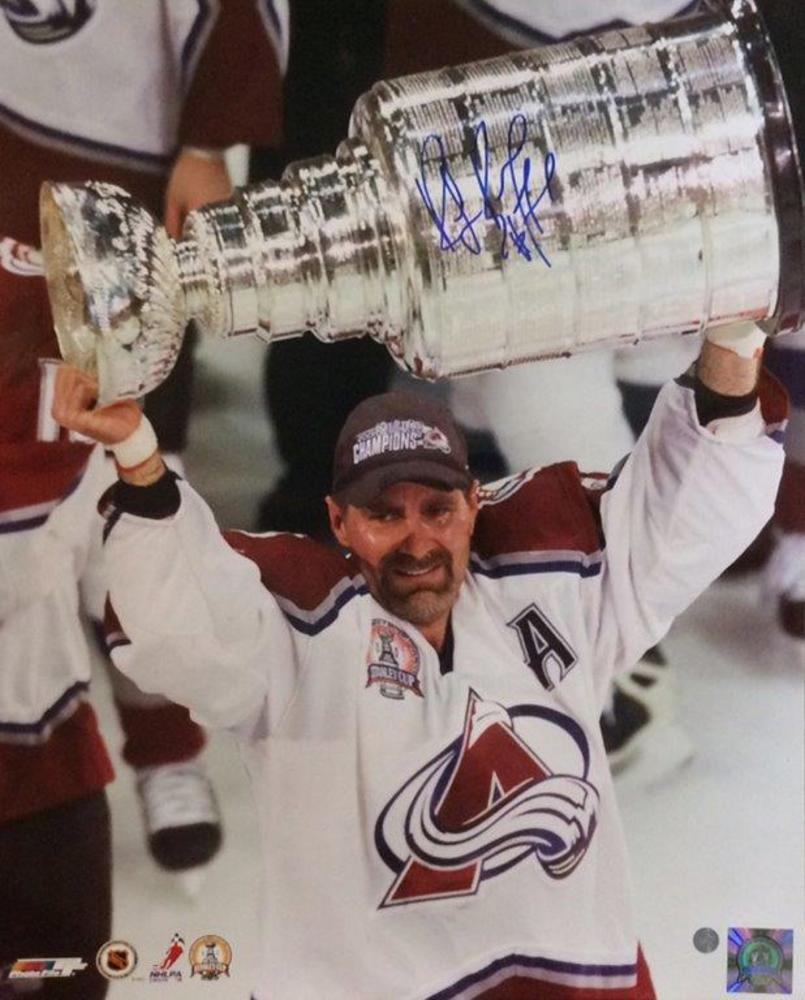 Ray Bourque - Signed 16x20 Unframed Colorado Avalanche Photo Stanley Cup-V