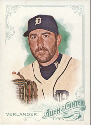 Photo of 2015 Topps Allen and Ginter #15 Justin Verlander