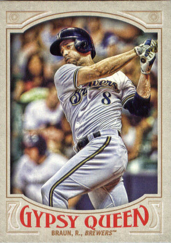 Photo of 2016 Topps Gypsy Queen #161 Ryan Braun