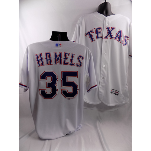 Photo of Cole Hamels White Team-Issued Jersey