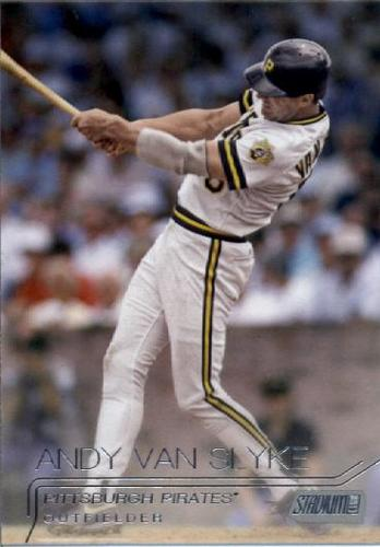 Photo of 2015 Stadium Club #93 Andy Van Slyke