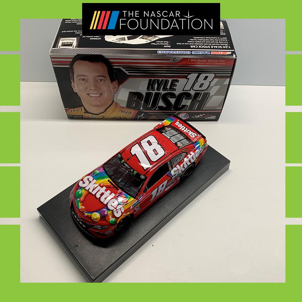 NASCAR's Kyle Busch Autographed Diecast!