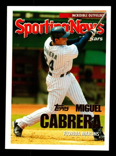 Photo of 2005 Topps Update #161 Miguel Cabrera AS