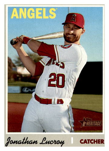 Photo of 2019 Topps Heritage #566 Jonathan Lucroy