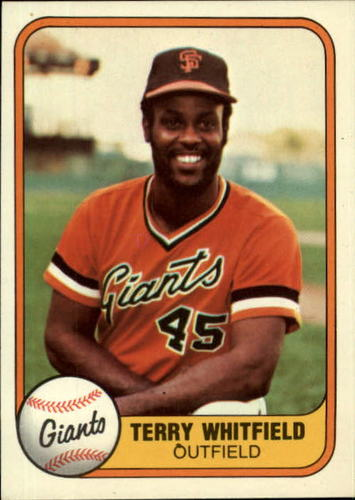 Photo of 1981 Fleer #437 Terry Whitfield