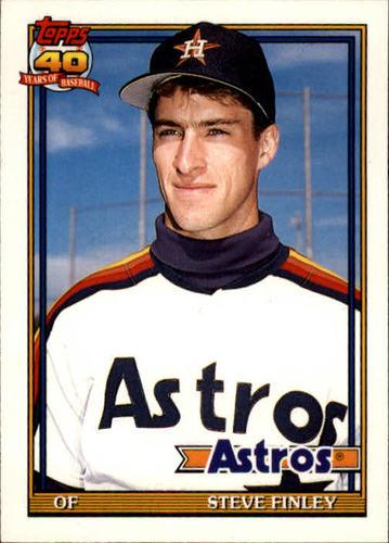 Photo of 1991 Topps Traded #42T Steve Finley