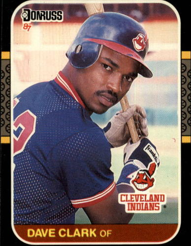 Photo of 1987 Donruss #623 Dave Clark RC