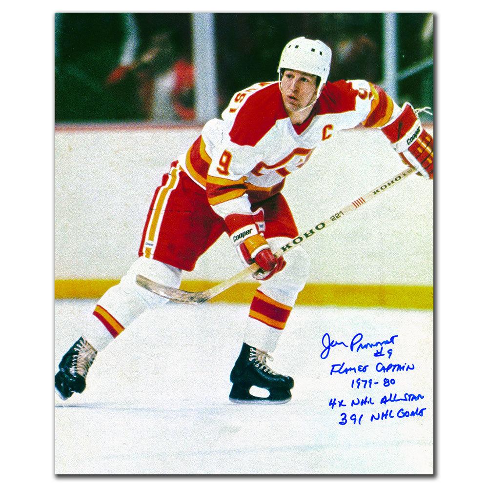 Jean Pronovost Atlanta Flames STATS Autographed 11x14