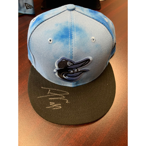 Photo of Dwight Smith Jr. - Father's Day Cap: Autographed