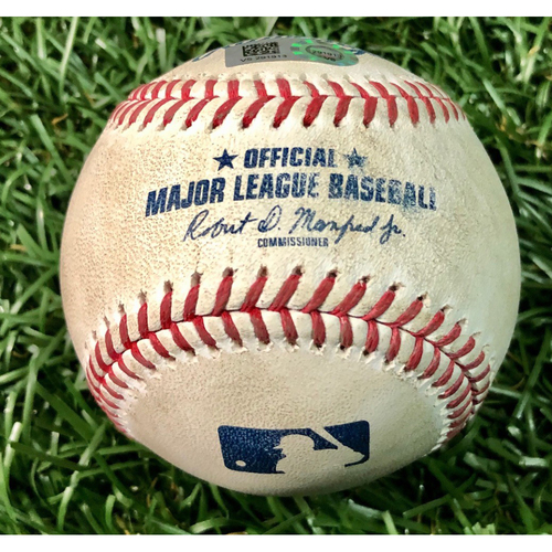 Photo of Game Used Baseball: Lourdes Gurriel Jr. HOME RUN (4) off Blake Snell - August 24, 2020 v TOR