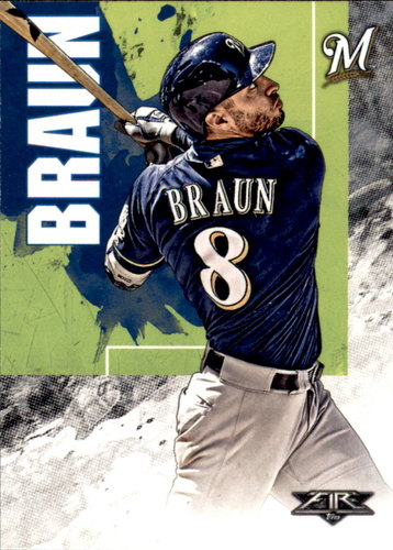 Photo of 2019 Topps Fire #84 Ryan Braun