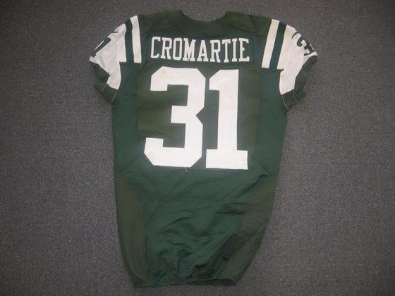 NFL Auction | Jets - Antonio Cromartie - Game Worn Jersey vs ...