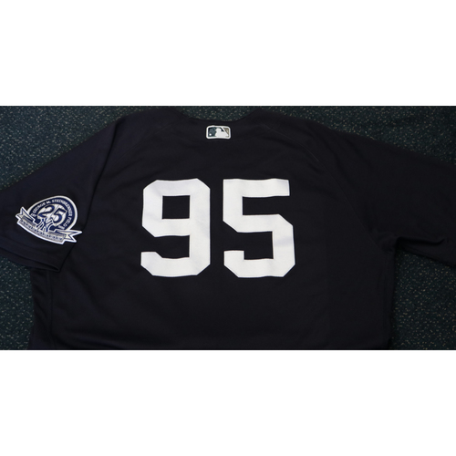 Photo of Team-Issued Spring Training Jersey - Domingo Acevedo - #95 - Jersey Size - 48