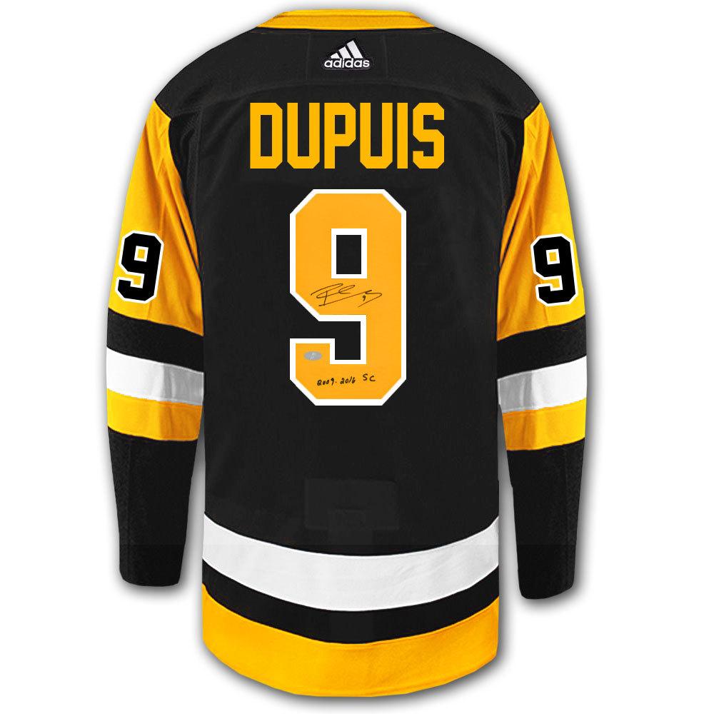 Pascal Dupuis Pittsburgh Penguins Adidas Pro Autographed Jersey