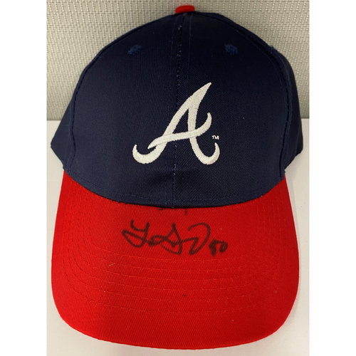 Photo of Lucas Sims Autographed Hat