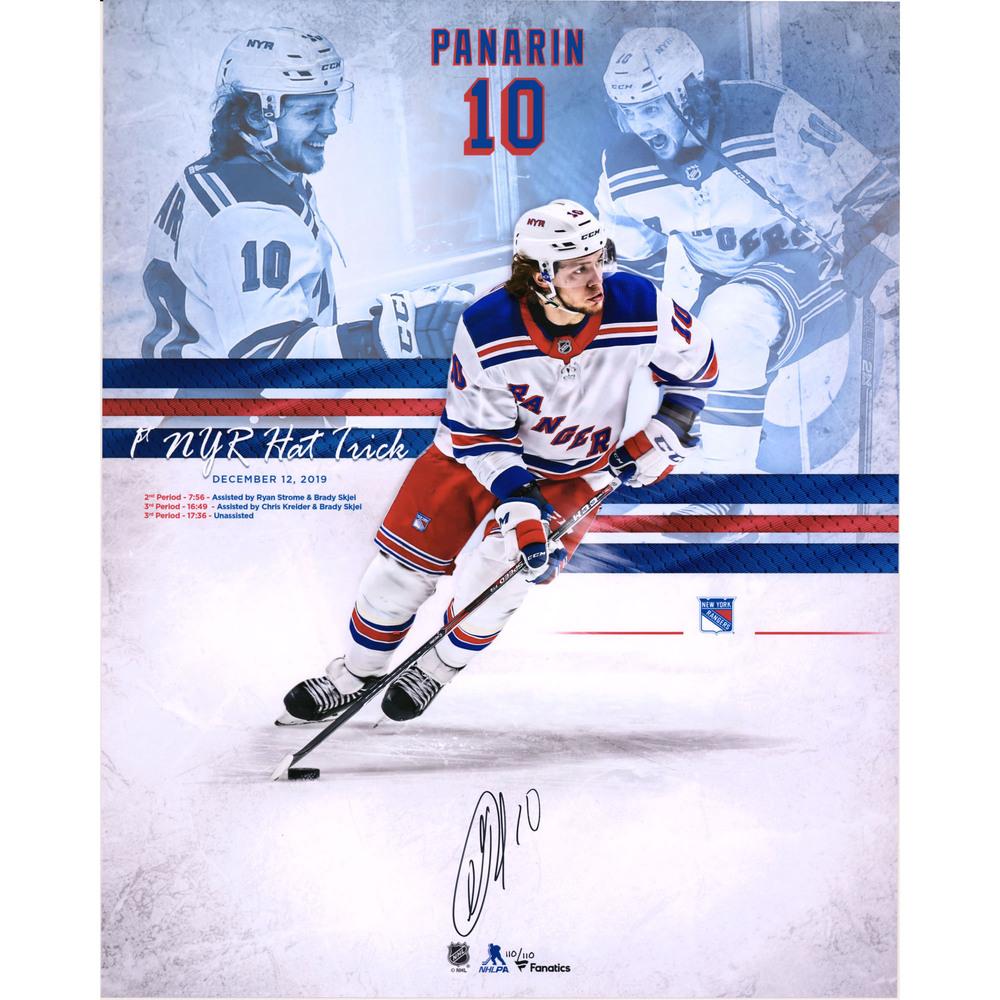 Artemi Panarin New York Rangers Autographed 16