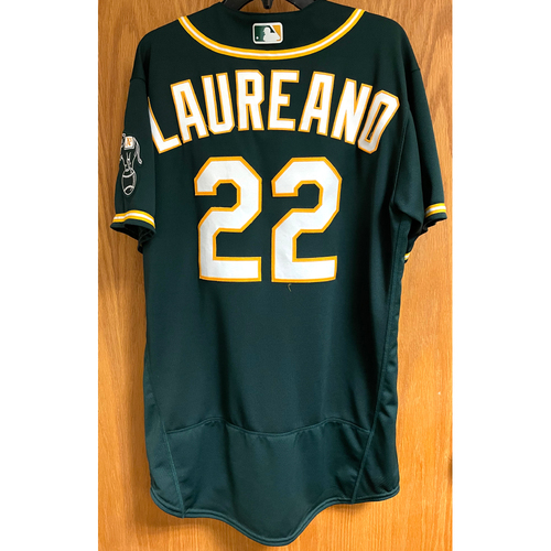 Photo of Game-Used Jersey - Ramon Laureano; HR #5 (5/2/21 vs. Baltimore Orioles)