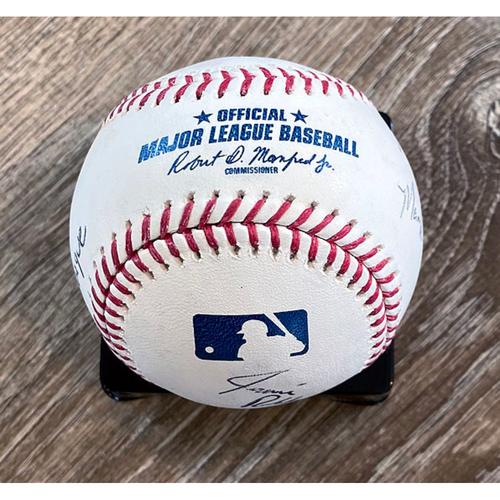 Photo of UMPS CARE AUCTION: 2018 Little League Classic Crew Signed Baseball