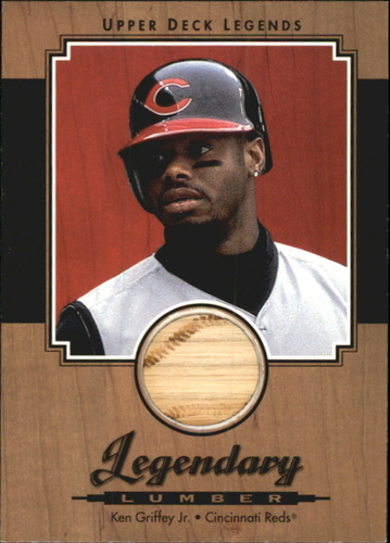 Photo of 2001 Upper Deck Legends Legendary Lumber #LKG Ken Griffey Jr.
