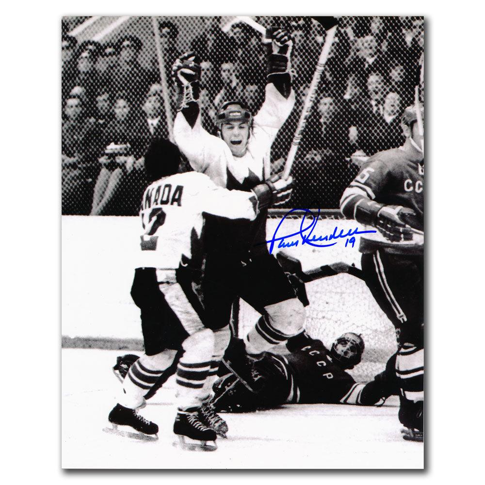 Paul Henderson Team Canada THE GOAL Autographed 8x10