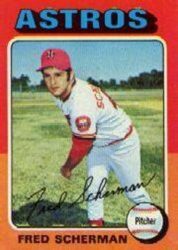 Photo of 1975 Topps #252 Fred Scherman