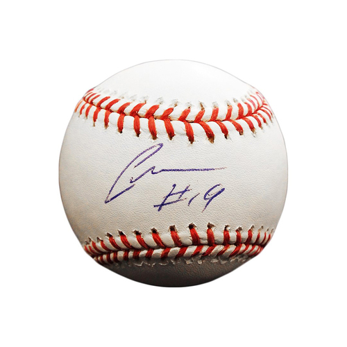 Photo of Cheslor Cuthbert Autographed Baseball