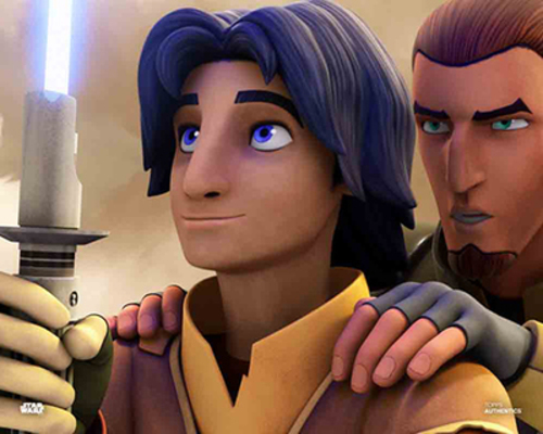 Ezra Bridger and Kanan Jarrus