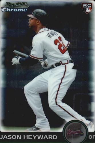 Photo of 2010 Bowman Chrome Draft #BDP40 Jason Heyward Rookie Card