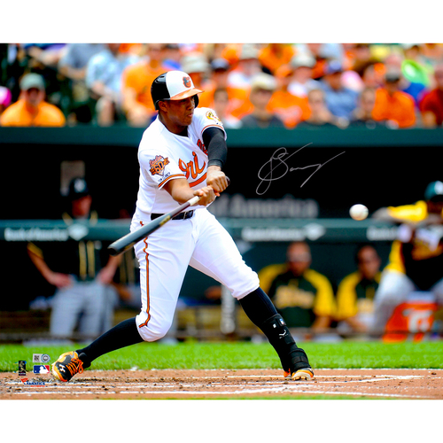 "Photo of Jonathan Schoop Baltimore Orioles Autographed 16"" x 20"" Photo"