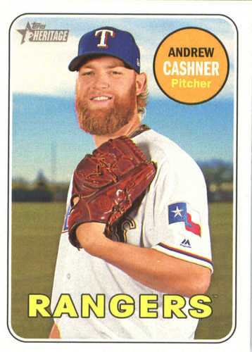 Photo of 2018 Topps Heritage #149 Andrew Cashner