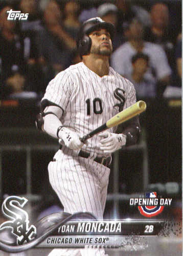 Photo of 2018 Topps Opening Day #31 Yoan Moncada