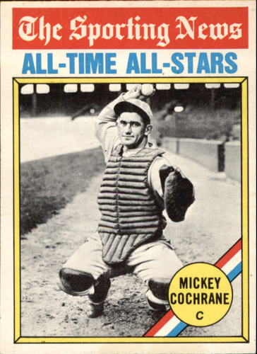 Photo of 1976 Topps #348 Mickey Cochrane Hall of Fame Class of 1947