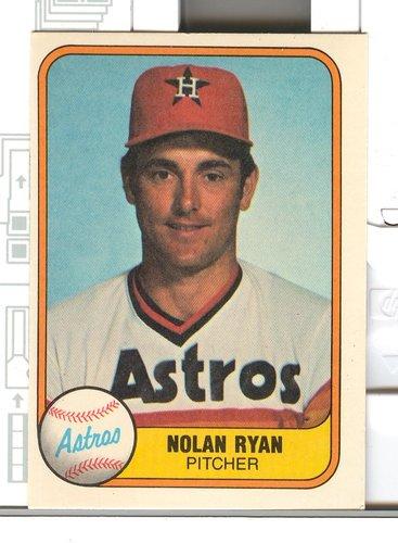 Photo of 1981 Fleer #57 Nolan Ryan -- Hall of Fame Class of 1999