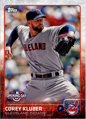 Photo of 2015 Topps Opening Day #83 Corey Kluber