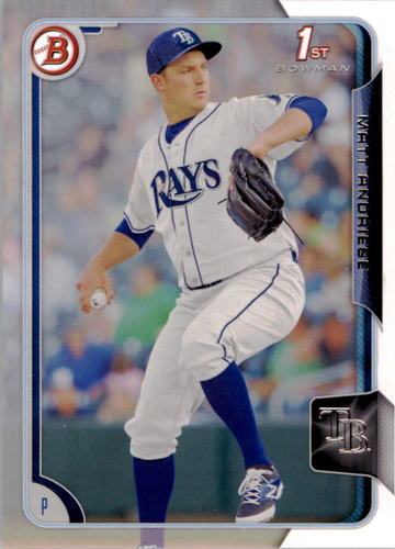 Photo of 2015 Bowman Prospects #BP67 Matt Andriese