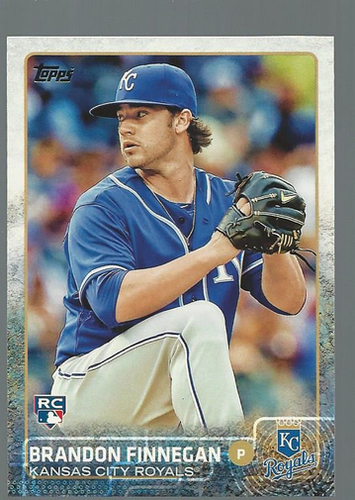 Photo of 2015 Topps #154 Brandon Finnegan RC