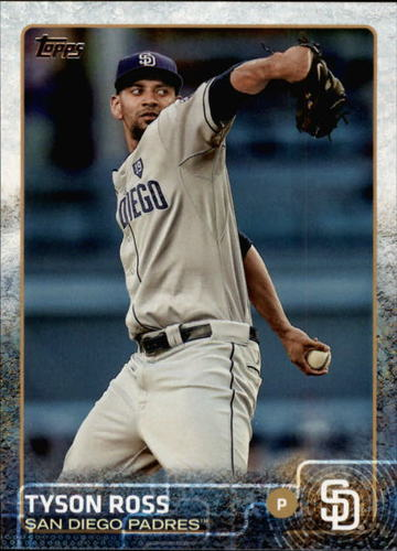 Photo of 2015 Topps #686 Tyson Ross