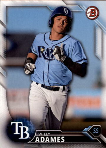 Photo of 2016 Bowman Draft #BD156 Willy Adames