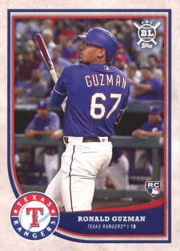Photo of 2018 Topps Big League #374 Ronald Guzman RC