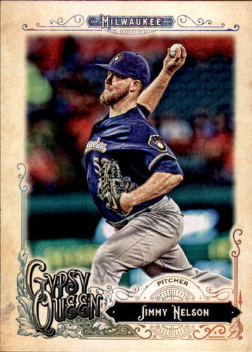 Photo of 2017 Topps Gypsy Queen #143 Jimmy Nelson